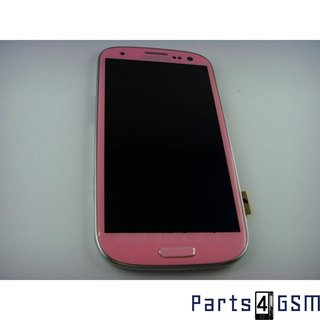 Samsung Galaxy S3 / S III i9300 LCD Display + Touchscreen + Frame Pink GH97-13630G