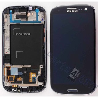 Samsung i9300i Galaxy S3 Neo LCD Display Module, Black, GH97-15472E
