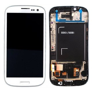 Samsung i9300i Galaxy S3 Neo LCD Display Module, White, GH97-15472B