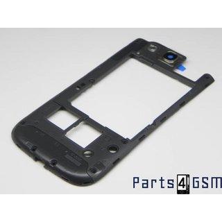 Samsung Galaxy S III i9305 LTE Middenbehuizing Grijs GH98-24473A