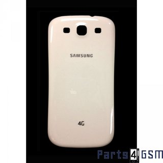 Samsung Galaxy SIII i9305 LTE Battery Cover 4G White GH98-25542C