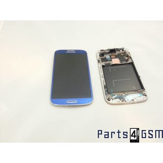 Samsung Galaxy S IV /S4 i9505 LCD Display + Touchscreen + Frame Blue GH97-14655C