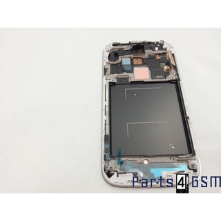 Samsung Galaxy S IV /S4 i9505 Lcd Display + Touchscreen + Frame Blauw GH97-14655C