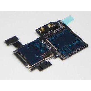 Samsung Galaxy SIV S4 i9505 SIM Card MicroSD connector Flex Cable GH59-13278A