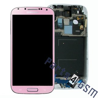 Samsung I9505 Galaxy S4 LCD Display Module, GoldPink, GH97-14655J