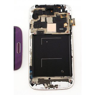 Samsung I9506 Galaxy S4 LTE+ LCD Display Module, Purple, GH97-15202D
