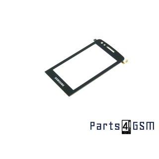 Samsung M8800 Pixon Touchpanel Glas, Buitenvenster Raampje Zwart