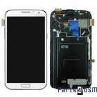 Samsung Galaxy Note 2 N7100 Internal Screen + Digitizer Touch Panel Outer Glass + Frame White GH97-14112A