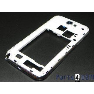 Samsung Galaxy Note 2 / II LTE N7105 - Middenbehuizing Wit GH98-25345A