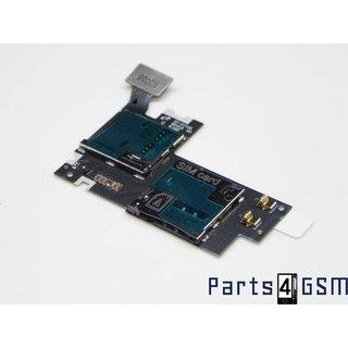 Samsung Galaxy Note II LTE N7105 Sim/Memory Card Reader Flex GH59-12800A