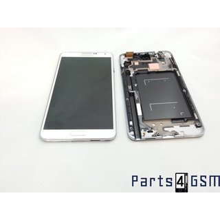 Samsung Galaxy Note 3 N9005 Lcd Display + Touchscreen + Frame White GH97-15107B;GH97-15210B