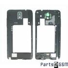 Samsung Galaxy Note III / Note 3 Middenbehuizing incl. Antenne + Luidspreker Zwart GH96-06544A5/1