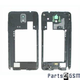 Samsung Galaxy Note III / Note 3 Middenbehuizing incl. Antenne + Luidspreker Zwart GH96-06544A