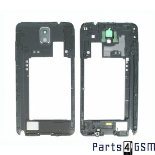 Samsung Galaxy Note III / Note 3 Middle Cover incl. Antenna + Loudspeaker Black GH96-06544A