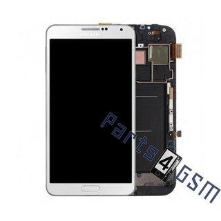 Samsung Galaxy Note III / Note 3 N9005 Lcd Display Module, Wit, GH97-15209B;GH97-15107B
