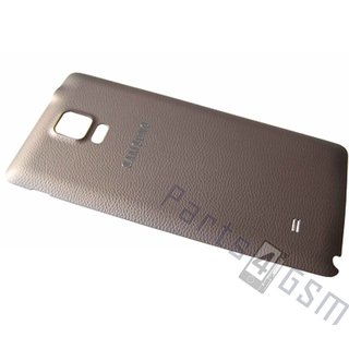 Samsung N910F Galaxy Note 4 Battery Cover, Gold, gh98-34209c