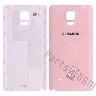 Samsung N910F Galaxy Note 4 Accudeksel, Roze, GH98-34209D