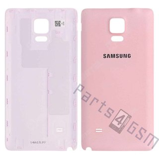 Samsung N910F Galaxy Note 4 Battery Cover, Pink, GH98-34209D