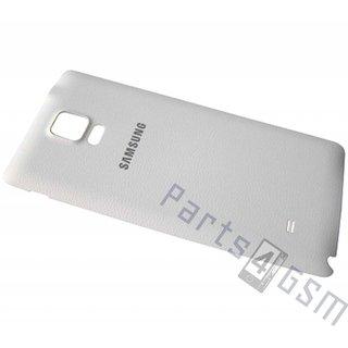 Samsung N910F Galaxy Note 4 Accudeksel, Wit, GH98-34209A