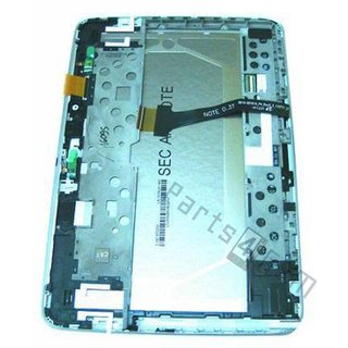 Samsung Galaxy Note 10.1 N8000 Lcd Display Module, Wit, GH97-13871A