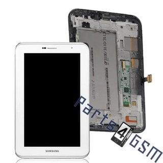 Samsung Galaxy Tab 2 7.0 P3110 Lcd Display Module, Wit, GH97-13516B