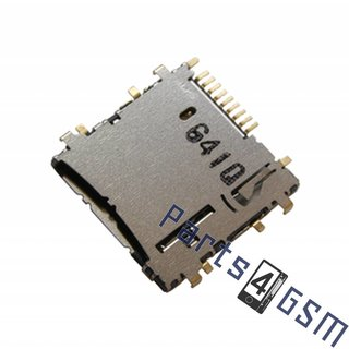 Samsung Galaxy Tab 3 10.1 P5200 MicroSD kaartlezer connector, 3709-001811