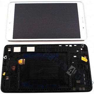 Samsung Galaxy Tab 4 7.0 LTE T235 LCD Display Module, White, GH97-16036B
