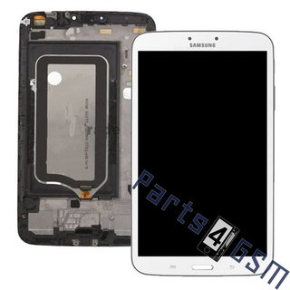Samsung Galaxy Tab 3 8.0 T3100 Lcd Display Module, Wit, GH97-14790A
