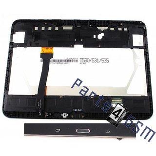 Samsung Galaxy Tab 4 10.1 T530 Lcd Display Module, Zwart, GH97-15849A