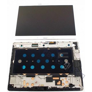 Samsung Galaxy Tab S 10.5 T800 LCD Display Module, White (Dazzling White), GH97-16028B