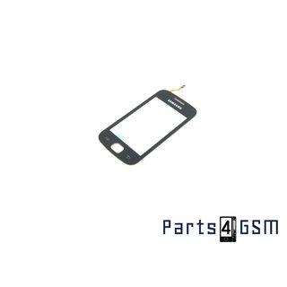 Samsung Galaxy Gio S5660 Touchpanel Glas, Buitenvenster Raampje Zwart