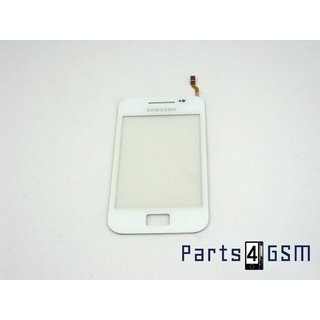 Samsung S5830I, S5839i Galaxy Ace Touchpanel Glas, Buitenvenster Raampje Wit GH59-12013A