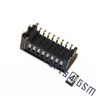 Samsung S6310 Galaxy Young MicroSD kaartlezer connector, 3709-001786