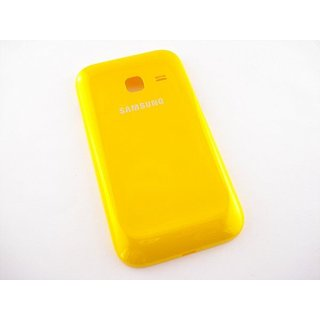 Samsung Galaxy Ace Duos S6802 Battery Cover Yellow GH98-23650D