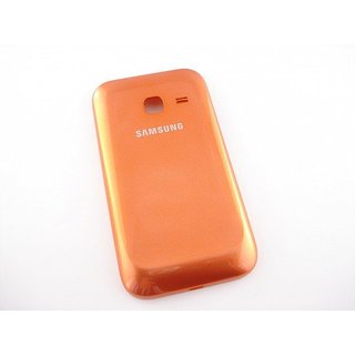 Samsung Galaxy Ace Duos S6802 Battery Cover Orange GH98-23650E