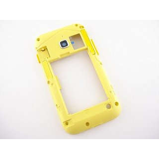 Samsung Galaxy Ace Duos S6802 Middle Cover Yellow GH98-23848D