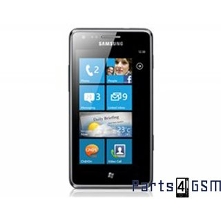 Samsung Omnia M S7530 LCD Display + Touchscreen + Frame Black GH97-13708A