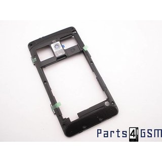 Samsung Omnia M S7530 Middle Cover Grey GH98-23093A