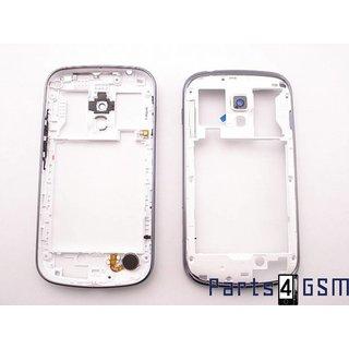 Samsung S7560M Galaxy Trend Middenbehuizing, Blauw, GH98-25291B