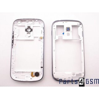 Samsung S7560M Galaxy Trend Middle Cover, Blue, GH98-25291B