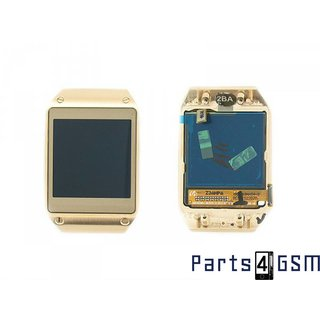 Samsung V700 Galaxy Gear LCD Display Module, Gold, GH97-15011B