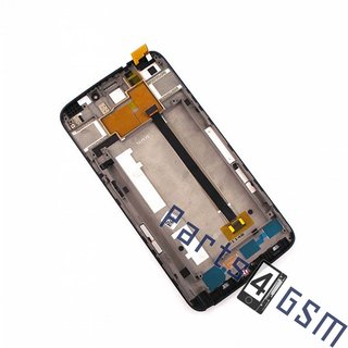 Alcatel OT-8020D One Touch Hero Lcd Display Module, Zwart