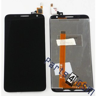 Alcatel OT-6050 One Touch Idol 2S Lcd Display Module, Zwart