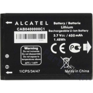 Alcatel Akku, CAB0400000C1, 400mAh, CAB0400000C1