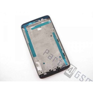 Alcatel OT-8000D Scribe Easy  Front Cover Frame, DarkChrome, BCA287365548