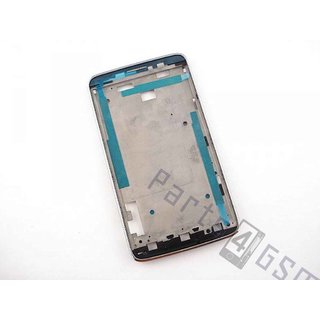 Alcatel OT-8000D Scribe Easy Front Cover Frame, LightChrome, BCA287365572