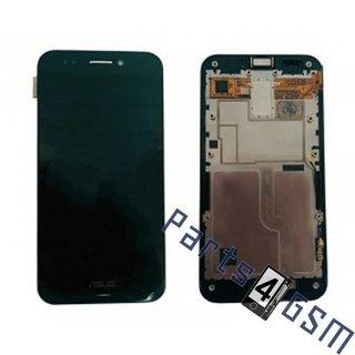 Asus PadFone A66 Lcd Display Module, Zwart