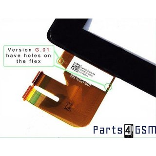 ASUS Transformer Pad TF300 (300T) Versie 69.10I21.G01 Touchscreen Display Zwart