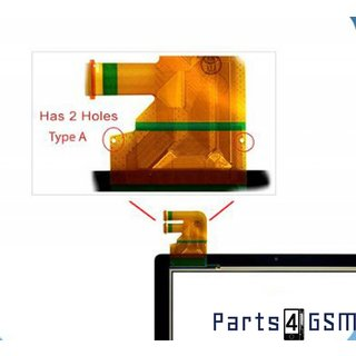 ASUS Transformer Pad TF300 (300T) Versie G00 Touchscreen Display Zwart