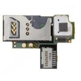 BlackBerry Curve 9360 SIM card Reader Connector Flex Cable